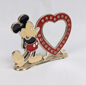 Vintage Mickey Mouse Earring Holder & Heart Mirror